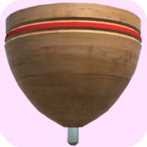 Traditional Spinning Top – 3D 32